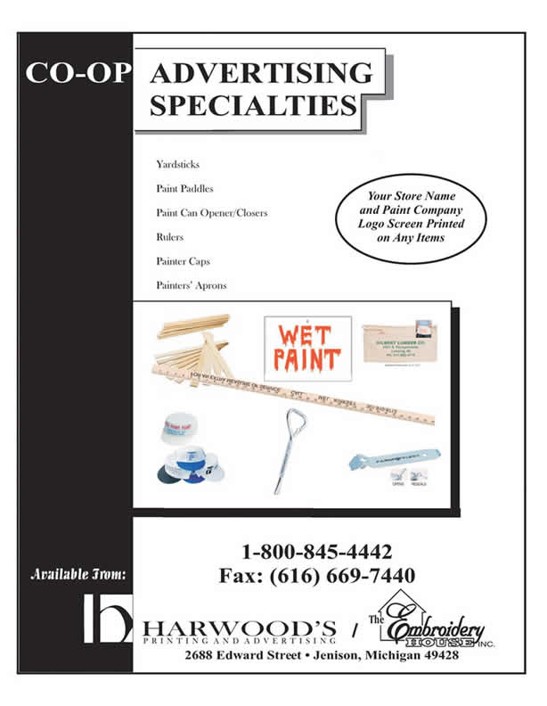 Paint Products Page 1